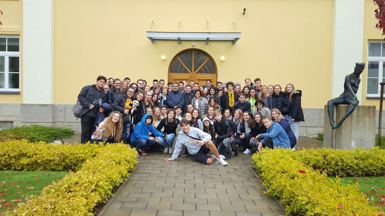 Obiskali so nas vrstniki iz Italije