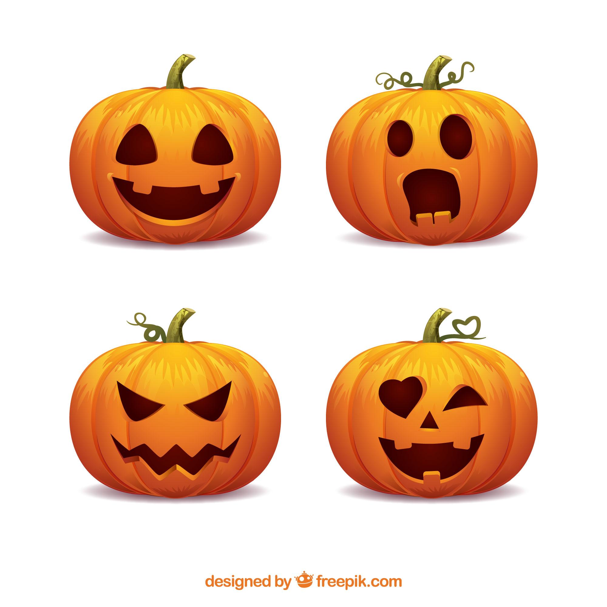 Noč čarovnic – izrezovanje buč