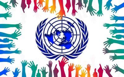 Razglednica s Stalnega predstavništva Republike Slovenije v Ženevi ob 24. oktobru – dnevu Organizacije združenih narodov